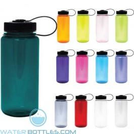 Nalgene Tritan Wide Mouth 16 oz Orange//White Water Bottle