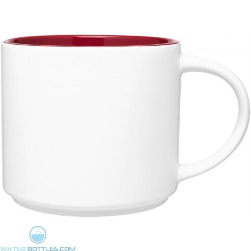 16 Oz Matte White Monaco Mug