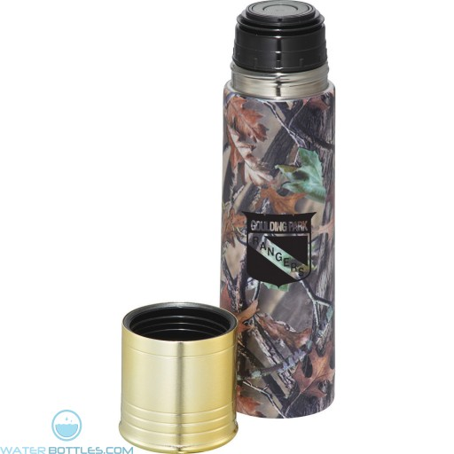 Personalized Promo Water Bottles - Personal Bullet Shell Vacuum Bottle | 17 oz