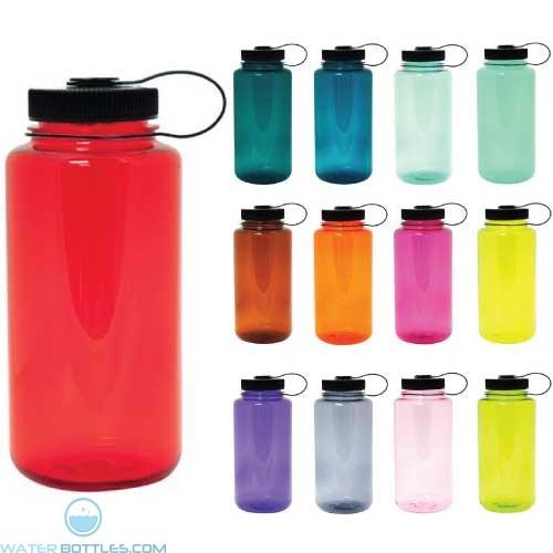Nalgene Wide Mouth Water Bottle 32 Oz Custom Water Bottles