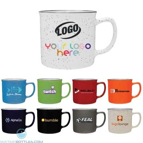 12 oz Cambria Speckled Ceramic Mug