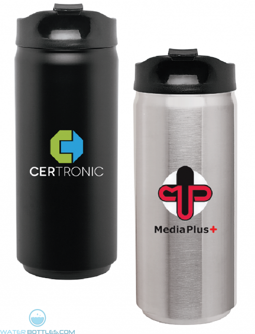 Custom Water Bottles - 12 oz SS Can Water Bottles