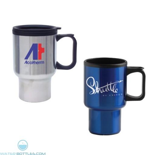 Promotional Mugs - Economy Stainless Steel Mug | 14 oz