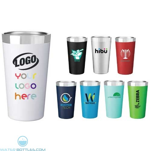 16.9 oz Omni Powder Coated Thermal Tumbler Cup
