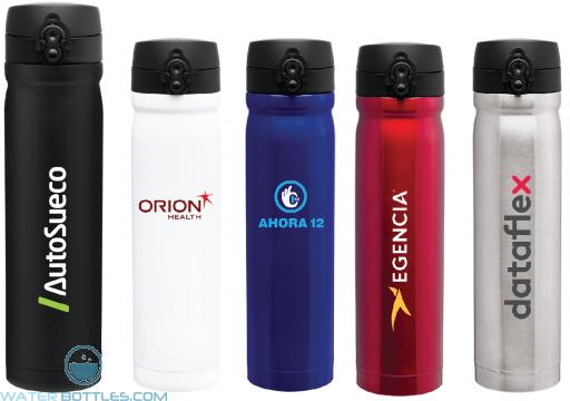 Premium Water Bottles - Vessel Stainless Steel Water Bottles | 15 oz