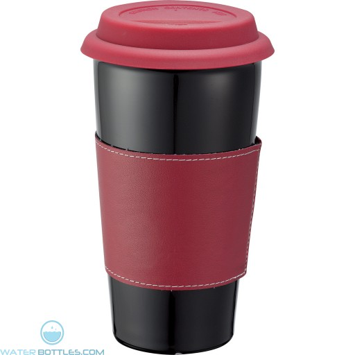 Promotional Tumblers - Custom Black Ceramic Tumbler | 15 oz