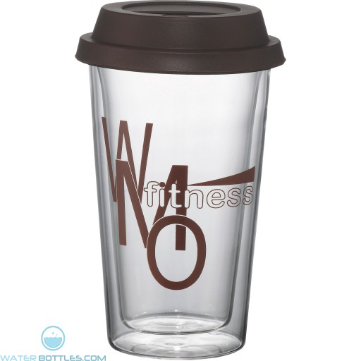 Promotional Tumblers - Double Wall Glass Tumbler | 10 oz