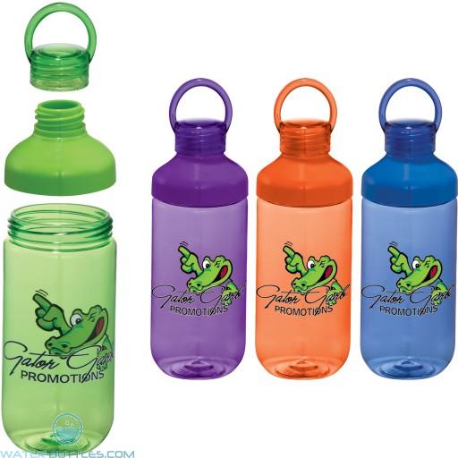 Personalized Water Bottles - Branded Bubble Bottle   22 oz