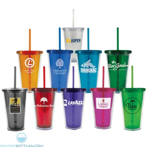 Personalized Tumblers - Freedom Facet Tumbler | 16 oz