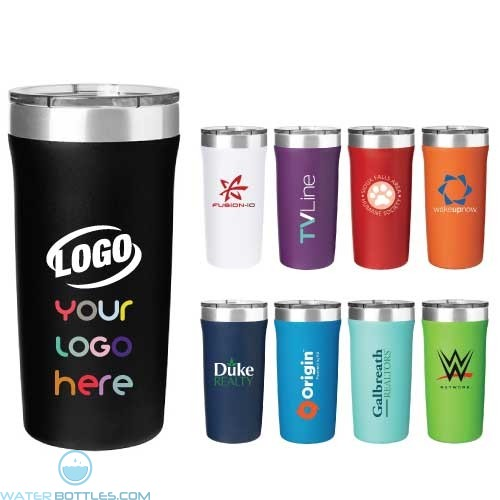 18 Oz Palermo Powder Coated Thermal Tumbler