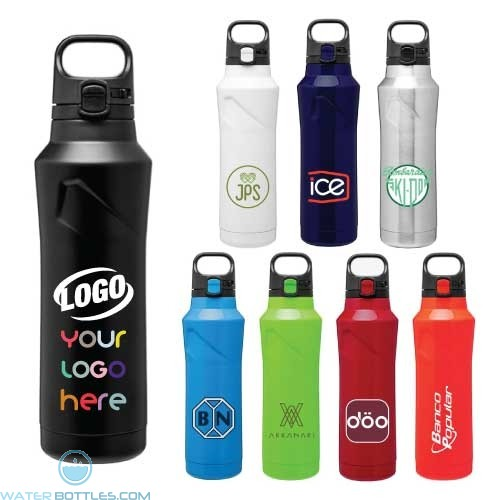 20.9 oz H2Go Houston Copper Insulated Thermal Bottles