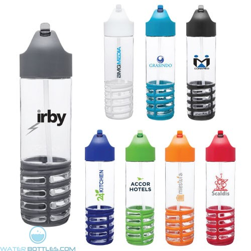 22 oz H2Go Swerve Tritan Water Bottles