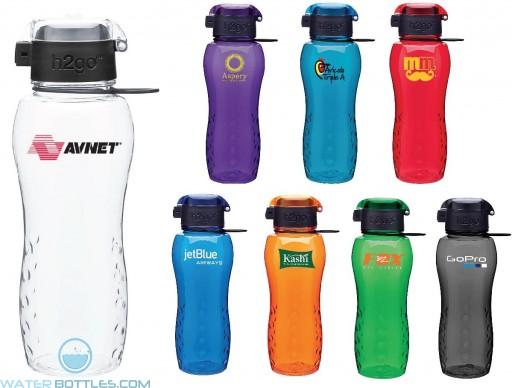 Custom Water Bottles - H2Go Zuma Tritan Water Bottles   24 oz