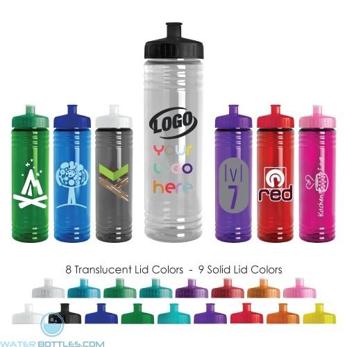 24 oz Slim Fit Cylinder Water Bottle