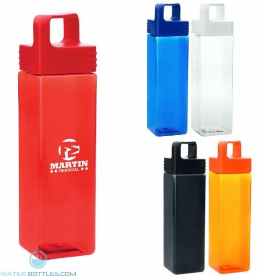 Square Water Bottles | 27 oz