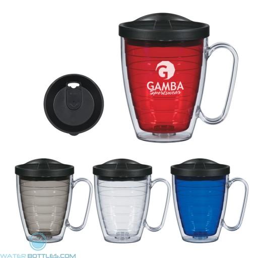 Personalized Promo Mugs - Double Wall Mug With Handle | 16 oz