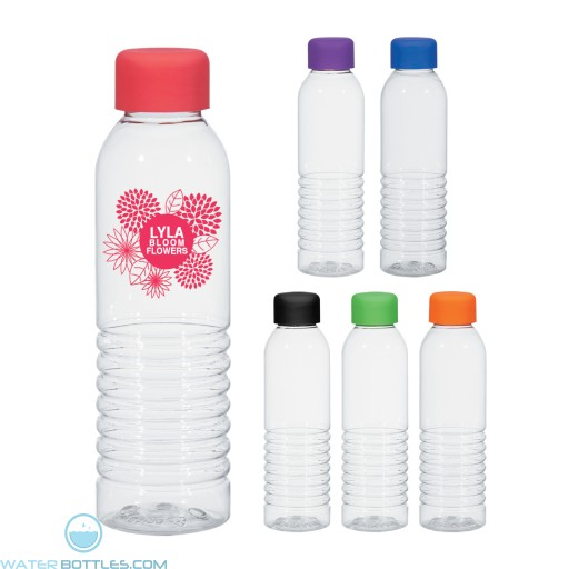 Personalized Water Bottles - Bottles With Rubberized Cap | 18 oz