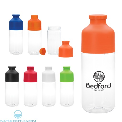 Wholesale Water Bottles - Color Top Water Bottles | 23 oz