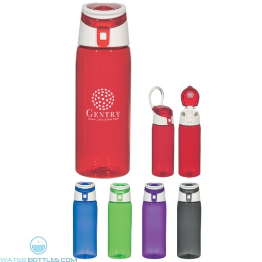 Personalized Sports Water Bottles - Flip Top Sports Bottles | 24 oz