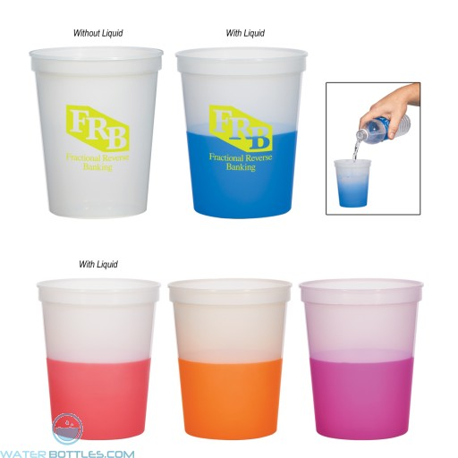 Promotional Cups - Color Changing Stadium Cup | 16 oz