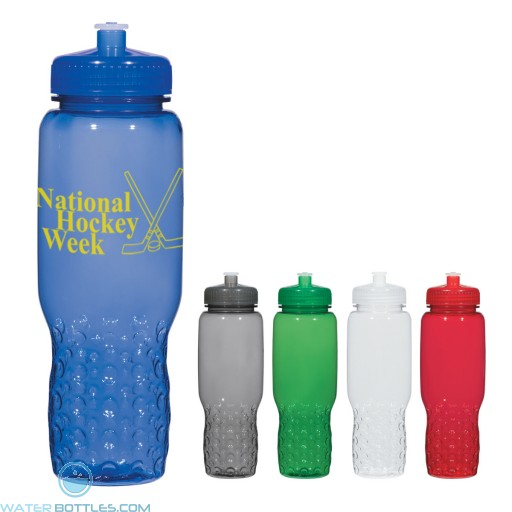 Personalized Sports Water Bottles - Hydroclean Sports Bottles With Groove Grippers | 32 oz
