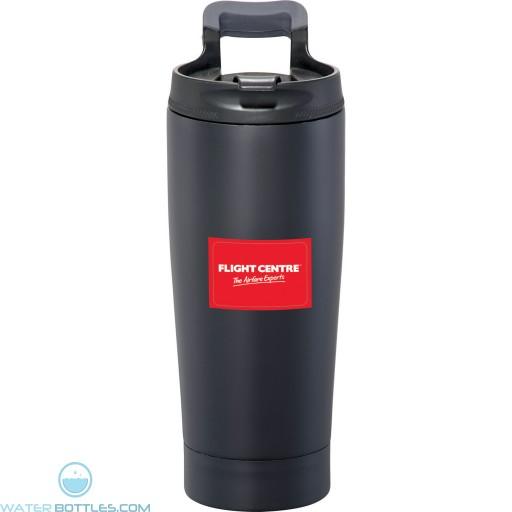 Promo Tumblers - Personalized Blackout Vacuum Tumbler | 17 oz - Black