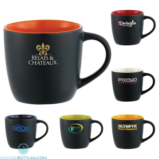 Custom Logo Mugs - Riviera Mug - Electric | 12 oz