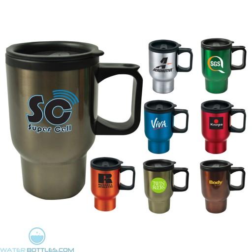 Custom Logo Mugs - Laguna Travel Mug | 16 oz