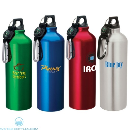 Flask with Carabiner   33.8 oz