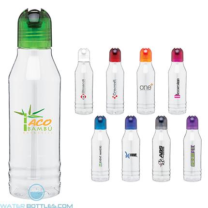 Custom Water Bottles - H2Go Tritan Flip Water Bottles | 20 oz