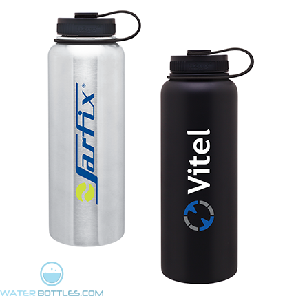 Custom Water Bottles H2Go 40 Oz Vacuum Insulated Titan