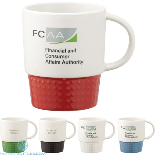 Custom Logo Mugs - Hobnail Ceramic Mug | 12 oz