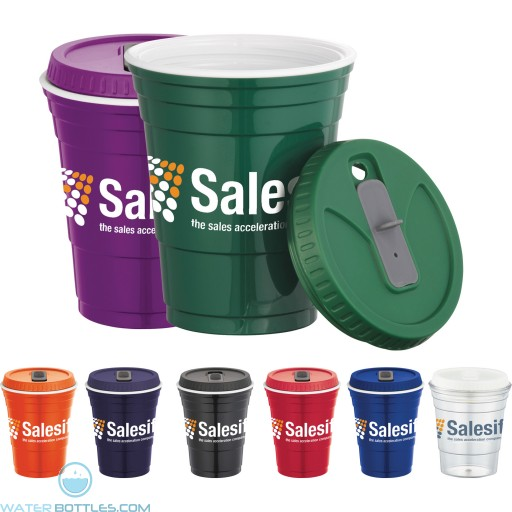 Promotional Cups - Game Day Cup With Lid | 16 oz