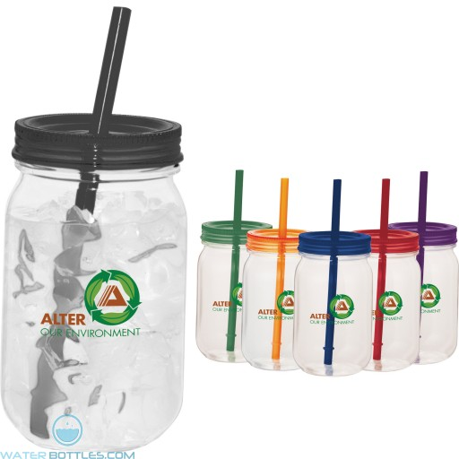 Custom Mason Jar Mugs - Game Day Mason Jar | 25 oz