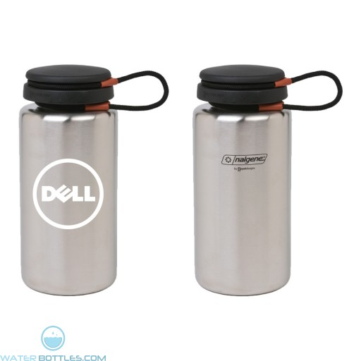 Personalized Water Bottles - 38 oz Stainless Steel Nalgene Water Bottle