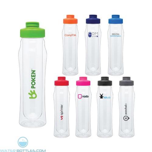 Custom Water Bottles - 16 oz H2Go Double Wall Tritan Water Bottle