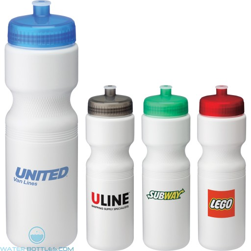 Personalized Sports Water Bottles - Easy Squeezy Sports Bottles | 28 oz