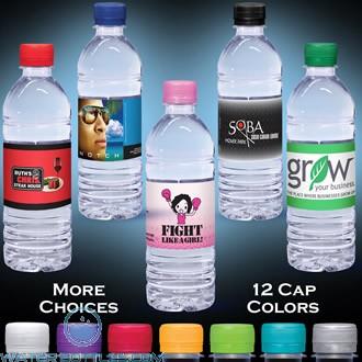Custom Labeled Water-Clear   16.9 fl oz.