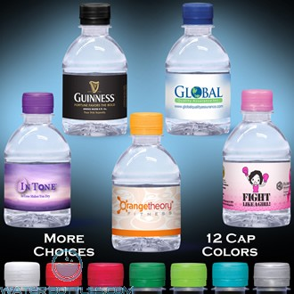 Custom Labeled Water | 8 fl oz.