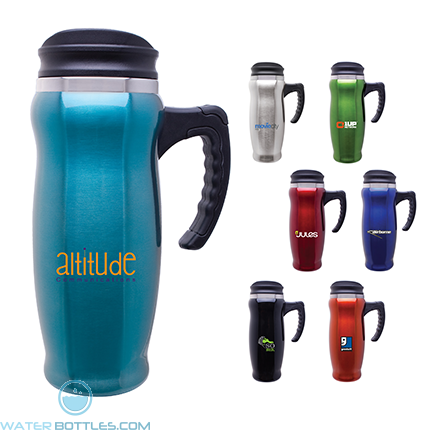 Custom Coffee Mugs - Atlantis Double Wall Insulated Mug | 15 oz