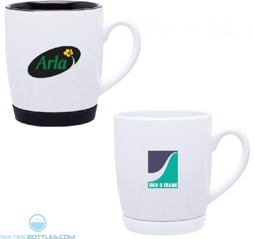 Cruz Single Wall Ceramic Mug | 10 oz