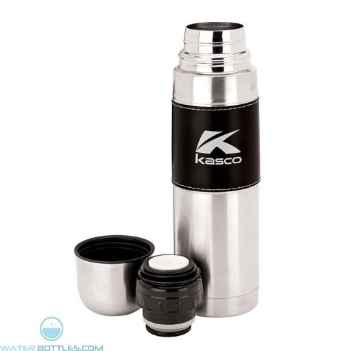 Custom Steel Flask with Sleeve | 16.9 oz