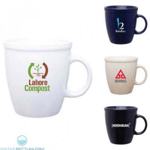 Ceramic Coffee House Mug | 18 oz
