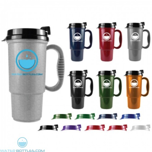 The Commuter - 16 oz. Auto Mug-Metallic Colors