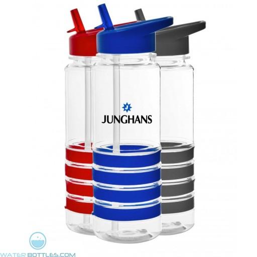 Custom Logo Water Bottles - The San Clemente Gripper Water Bottles