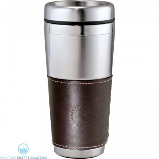 Cutter & Buck American Classic Leather Tumbler | 16 oz