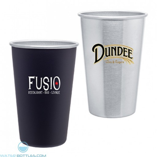 Stainless Steel Promo Pint | 16 oz