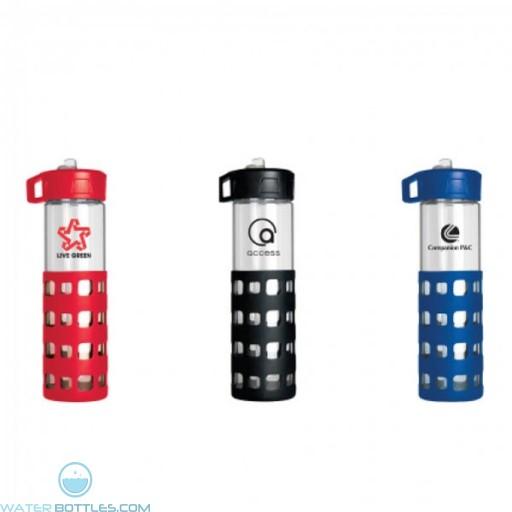 Sip-N-Go Glass Water Bottles | 20 oz