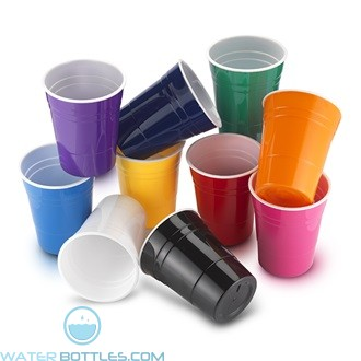 Promotional Cups - Reusable Plastic Party Cup | 16 oz
