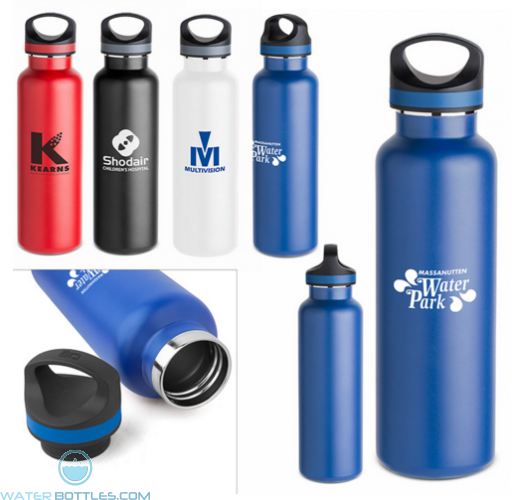 Personalized Promo Water Bottles - 20 oz Tundra Vacuum Insulated Bottle